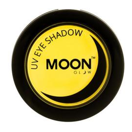 Neon UV eye shadow yellow