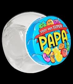 Snoeppotje voor een super papa