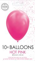 10 Ballonnen Hard Roze
