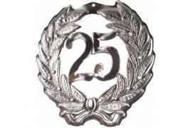 Hulde deco zilver 25