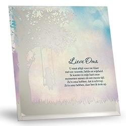 Silver Silhouette - Lieve Oma