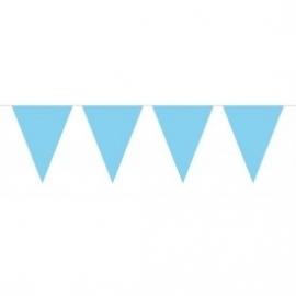 Mini vlaggenlijn blauw (licht)