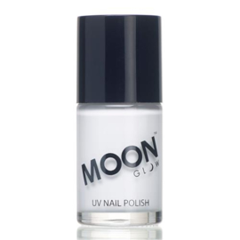 Neon UV nail polish white