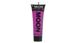 Neon UV face & body paint purple
