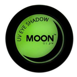 Neon UV eye shadow green