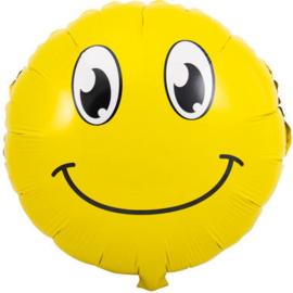 Folieballon Smiley