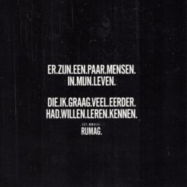 Wenskaart RUMAG - Er zijn een paar mensen....