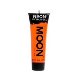 Neon UV hair gel orange