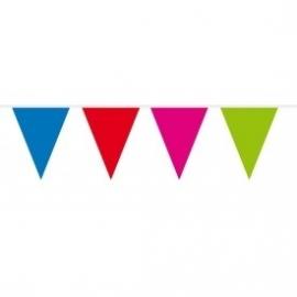 Vlaggenlijn assorti kleuren