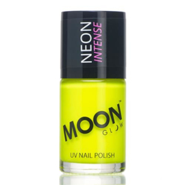 Neon UV nail polish intense yellow