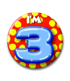 Button 3 jaar