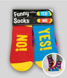 Funny socks - Yes! No!