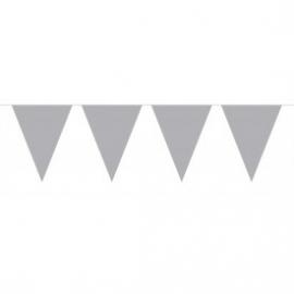 Mini vlaggenlijn zilver