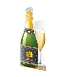 Champagne kaart Samenwonen