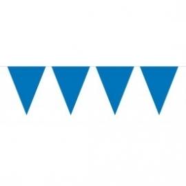 Mini vlaggenlijn blauw (donker)