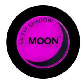 Neon UV eye shadow purple