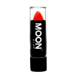 Neon UV lipstick intense red