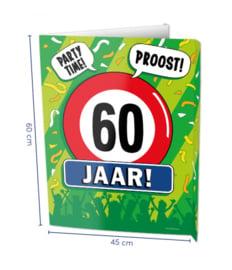 Window Sign - 60 jaar