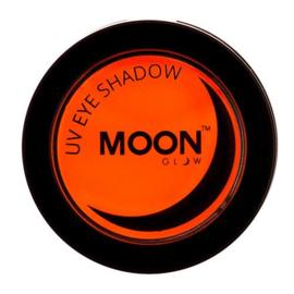 Neon UV eye shadow orange