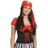 Pruik Piraten vrouw