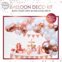 Balloon Deco Rose Gold
