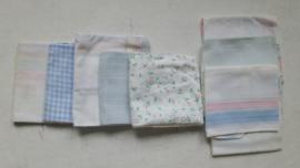 Vintage zakdoekjes, jaren 70