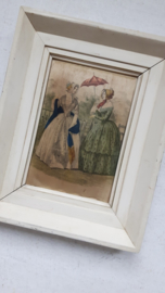 Mooi Victoriaans schilderijtje