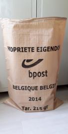 Postzak van de Belgische posterij