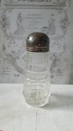 Glazen peper,zout strooier