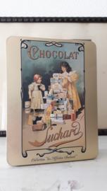 Vintage Frans chocolade blik