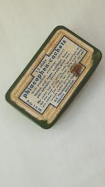 Oud Nederlands medicijnblikje