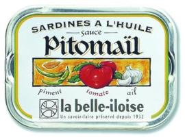 La Belle-Iloise - Sardines à la sauce Pitomaïl