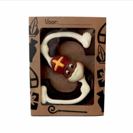 Des Noots Chocolade Letter Praline Puur