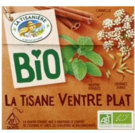 La Tisaniere Biologische Platte Buik thee