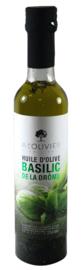 A L'olivier Extra Vergine olijfolie met Basilicum