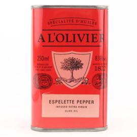 A L'olivier Olijfolie Extra Vergine met Espelette Peper