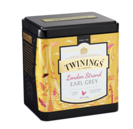 Twinings Thee  Platinum London Strand Earl Grey los 100 gr.