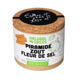 Natural Spices FLeur de Sel Piramidezout