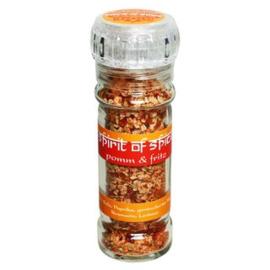 Spirit of Spice Pommes & Frites (Aardappelen, gevogelte, BBQ-sauzen, roerei, kruidenkwark.)