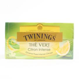 Twinings Thee Green Lemon 25 st. (groen)