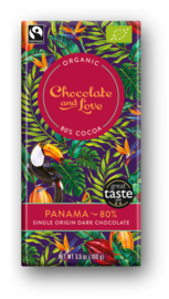 BIO Chocolate and Love Panama 80%
