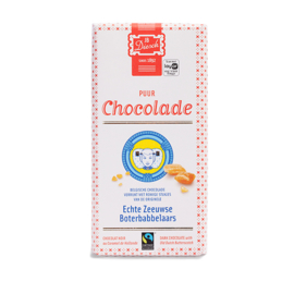 JD Diesch Luxe Chocoladereep Puur met Boterbabbelaars