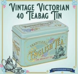 New English Tea Victorian 40 zakjes in blik
