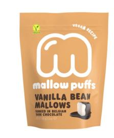 Baru Vanille Marshmallows in Belgische Donkere Chocolade