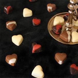 Des Noots Bakje Chocolade Hartjes Assortiment