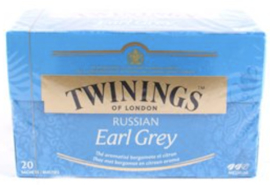 Twinings Russian Earl Grey 20 st. (zwart)