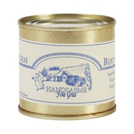 Handsaeme Foie Gras Gans Bloc 100 gram in blik