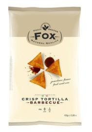Fox Mega bag Tortilla Chips Barbecue 450 gram