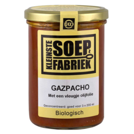 Rode Gazpacho  BIO Kleinste Soepfabriek
