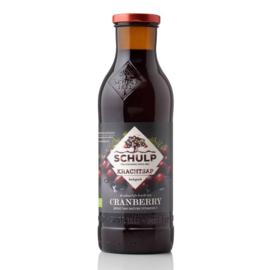 Schulp BIO Krachtsap Cranberry sap 0,75 liter